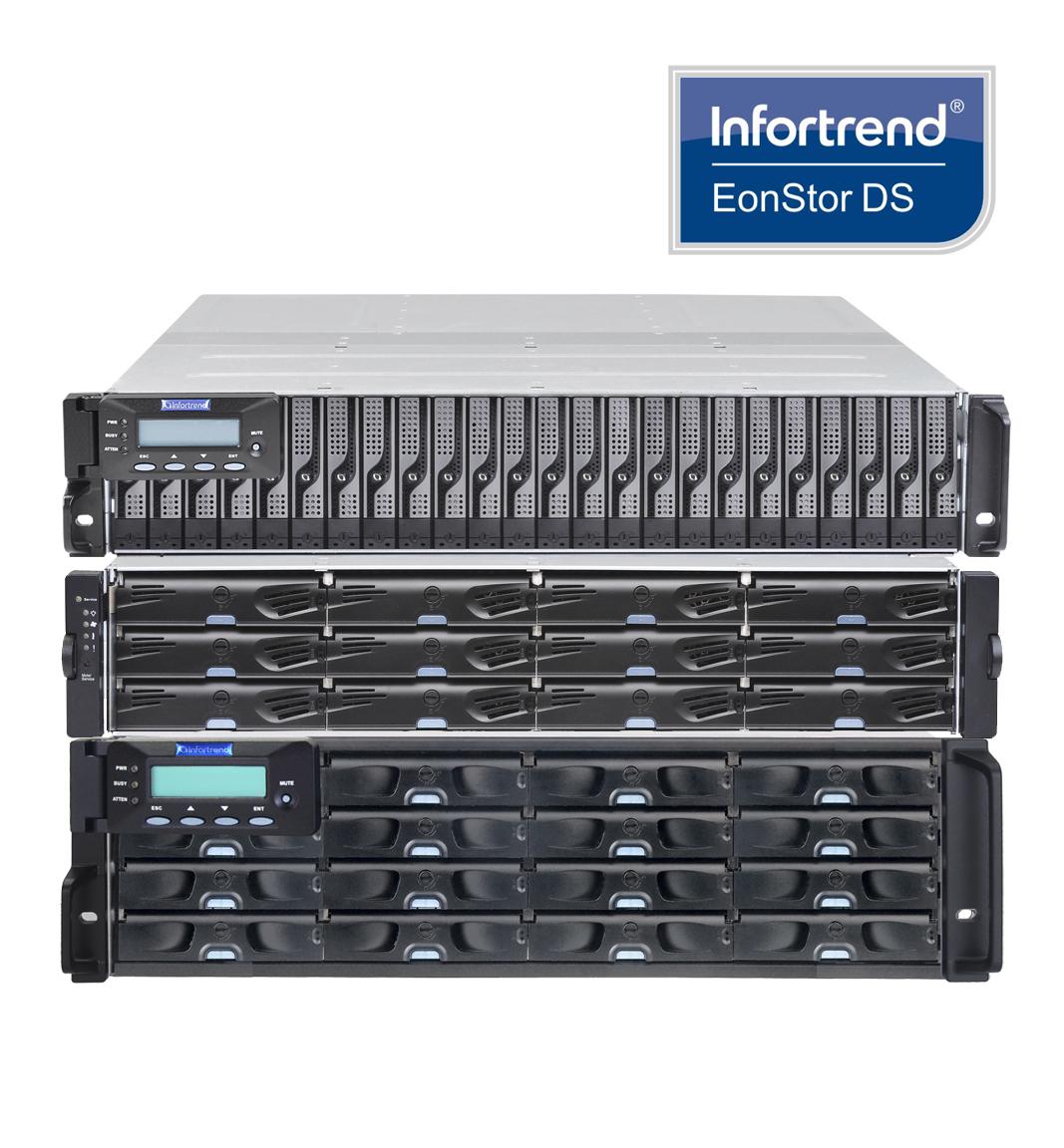 Sistemas de Almacenamiento Infortrend EonStor DS