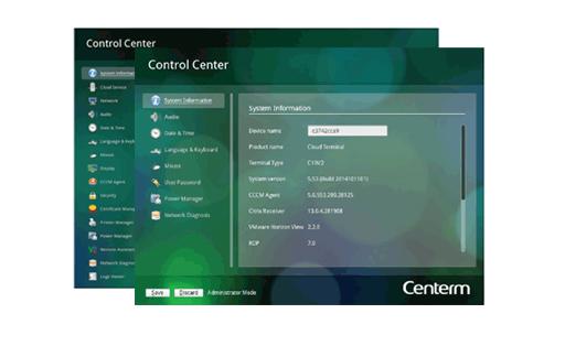 Conexiones Thin client Centerm C92Q