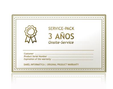 Garantía Servidores Dakel