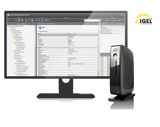 Thin client IGEL