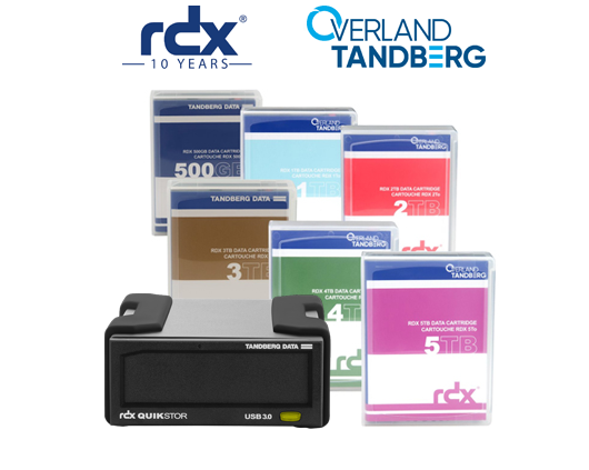 Sistema de Backup a disco Extraíble RDX Tandberg Data