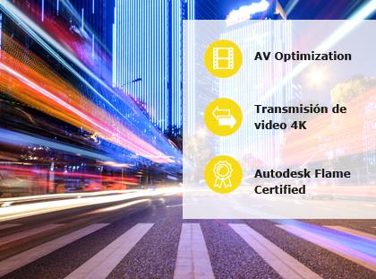 Almacenamiento para audiovisual