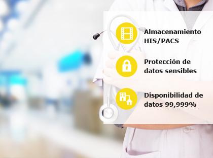 storage sector sanitario