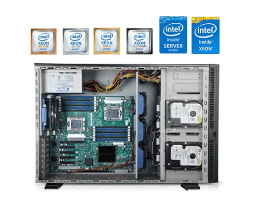 servidores torre dual-socket