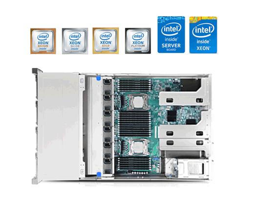 servidores rack dual-socket