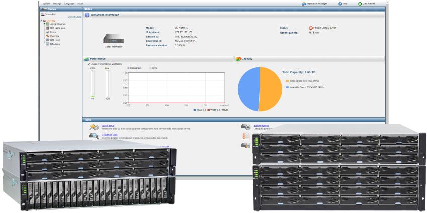 Storage Infortrend EonStor DS